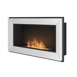 SIMPLE FIRE biokominek FRAME 90 cm biały - WYSYŁKA GRATIS
