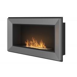 SIMPLE FIRE biokominek FRAME 90 cm inox - WYSYŁKA GRATIS