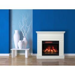 Classic Flame KEMI kolor biały Narożny WYSYŁKA GRATIS