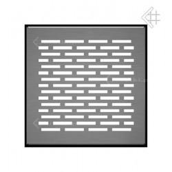 kratka podłogowa FLOOR 17x17 cm - szlifowana