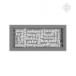 kratka wentylacyjna ABC 17/49 granito