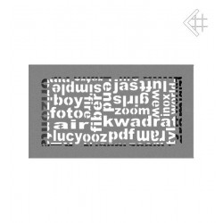kratka wentylacyjna ABC 17/30 granito