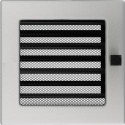 Kratka szlifowana z żaluzją 17x17