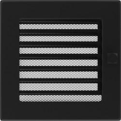Kratka czarna z żaluzją 17x17