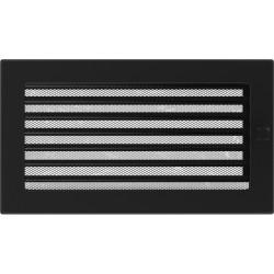 Kratka czarna z żaluzją 17x30