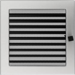 Kratka szlifowana z żaluzją 22x22