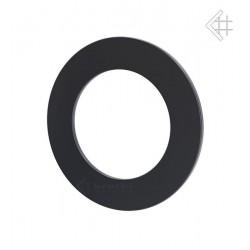 rozeta fi 200 z blachy czarnej