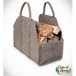 Ekologiczna torba na drewno FIL NATURALNY melanż