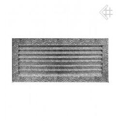 kratka wentylacyjna 17/37 FRESH czarno-srebrna