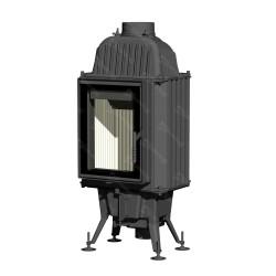 ROMOTOP wkład kominkowy KV 075 02 (żeliwny, szmot, regulowany czopuch, CDP) WYSYŁKA GRATIS