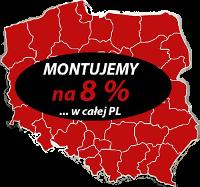 Montujemy na 8% w całej PL